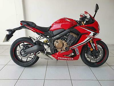 2020 Honda CBR650R Demo bike - Available to Test Ride Today Petrol red Manual