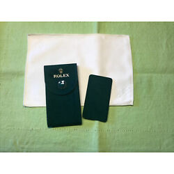 Kyпить Authentic New style ❗️Rolex  Velvet travel Pocket Pouch and Cleaning cloth set. на еВаy.соm