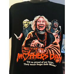 Mothers Day (1980) - Proud Of My Boys T-Shirt Officially Licensed Troma Toxic