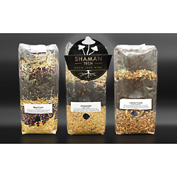 Kyпить All in One  MUSHROOM GROWING BIO-BAG KIT:  Substrate + Spawn Sterilzed на еВаy.соm