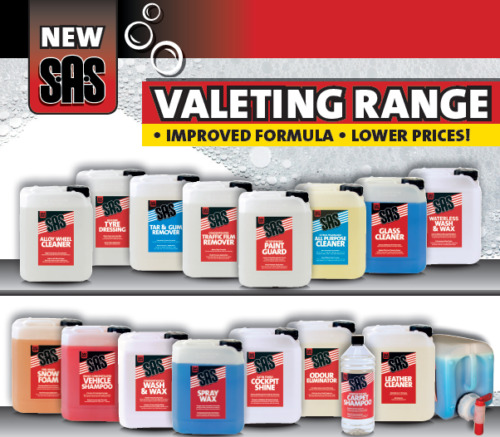 S.A.S VALETING CAR CARE CLEANING RANGE All Purpose Cleaner Valet Concentrate