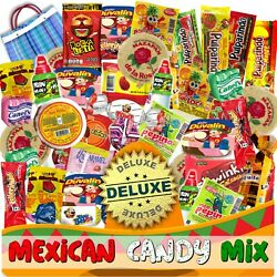 Kyпить Mexican Candy Mix (86 Count) Variety Of SPICY and SWEET Bulk Dulce Mexicano  на еВаy.соm