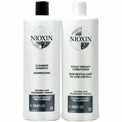 Kyпить NIOXIN System 2 Cleanser and Scalp Therapy - 33.8oz на еВаy.соm