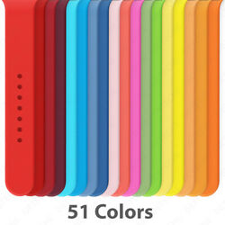 Kyпить Silicone Band Strap for Apple Watch Series 1/2/3/4/5/6/SE Sports 38/40/42/44mm на еВаy.соm