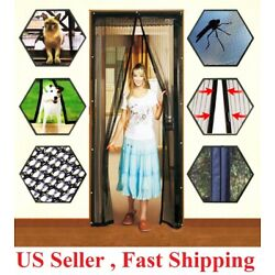 Kyпить Hands-Free Magnetic Screen Door Mesh Net BLOCK Mosquito Fly Insect Bug Curtain на еВаy.соm