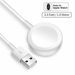 For Apple Watch Series SE/6/5/4/3/2/1 Magnetic Charging Dock USB Cable Charger