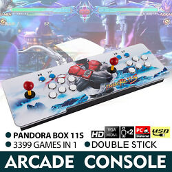Kyпить Pandora Box 11s 3399 Games in 1 Retro Video Game Double Stick Arcade Console New на еВаy.соm