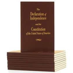 Kyпить Declaration of Independence and Constitution of the United States - Pocket Book  на еВаy.соm