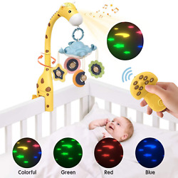Kyпить Baby Crib Mobile Toy with Lights and Music Star Projector 108 Songs Musical Box на еВаy.соm