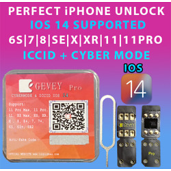 Kyпить NEW Gevey Pro ICCID+MNC MODE UNLOCK SIM CARD FOR ALL IPHONES & CARRIERS IOS 14 на еВаy.соm