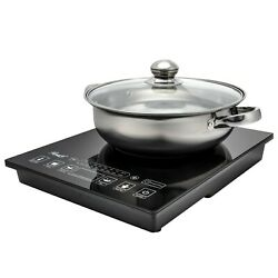 Kyпить Rosewill Portable Induction Cooker Electric Hot Plate Includes 3.5Qt Pot на еВаy.соm
