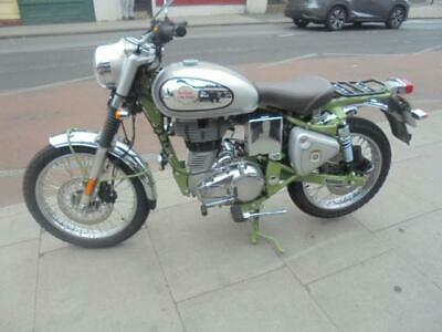 ROYAL ENFIELD BULLET TRIALS 500 IN GREEN 2020 WITH ONLY 20