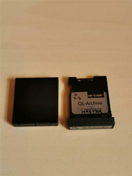 QL ARCHIVE - PSION - MICRODRIVE CARTRIDGE - SINCLAIR QL - 1985 - VERSION 2.30