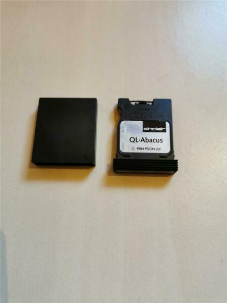 QL ABACUS - PSION - MICRODRIVE CARTRIDGE - SINCLAIR QL - 1985 - VERSION 2.0