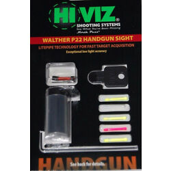 HIVIZ Sights Walther P22 Front Sight W/Interchangeable LitePipes-WAL2012