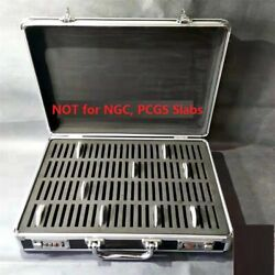 Kyпить Aluminum Frame Storage Box Case with Lock for 100 Silver Dollar Coins Holders на еВаy.соm