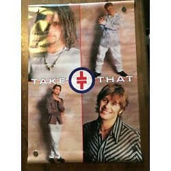 Take That Officially Licensed Glossy Poster Athena International Vintage 1995
