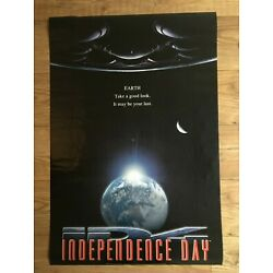 Independence Day Earth Licensed Movie Glossy Poster Athena Intl Vintage 1996