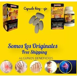 Artri King Ortiga Omega 3 Joint Support Supplement Mexico 100 Tabletas Artriking