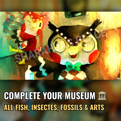 Mions,FranceEverything for MUSEUM - Animal Crossing New Horizons