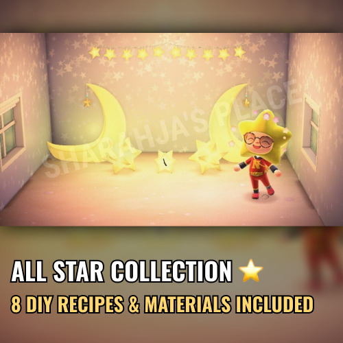 Mions,FranceCeleste Star Complete Collection Animal Crossing New Horizons