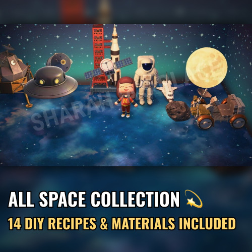 Mions,FranceCeleste Space Complete Collection Animal Crossing New Horizons