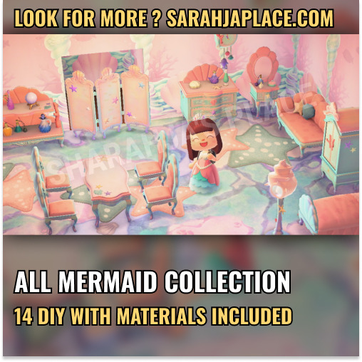 Mions,FranceMermaid Complete Collection Animal Crossing New Horizons