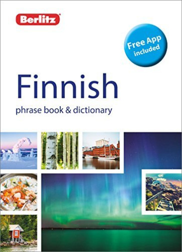Royaume-Uni, Berlitz-Berlitz Phrase Book & Dictionary Finnish BOOK NEUF