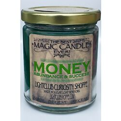 Magic Money Candle For Attracting Money & Abundance ! Fast Luck! Wiccan spell!