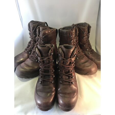 img-HAIX Combat High Liability Grade 1 British Army Boots Brown Male Female Cadet