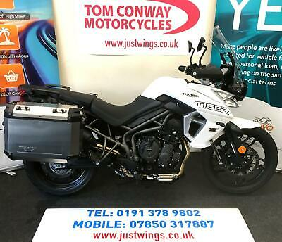 TRIUMPH TIGER 800 XRX LOW, 2019(69), 1 OWNER, 545 MILES., PERFECT, £9395