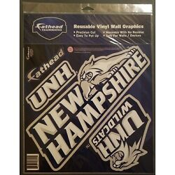 Fathead Teammates University of New Hampshire Moveable & Reusable Decals. PRead
