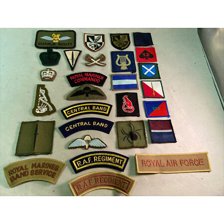 img-TRF Brigade Regiment Badge Patch Army MTP Military Police Assault Flag RAF Rat