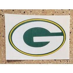 Awesome Handcrafted NFL Green Bay Packers Vinyl Decal Indoor/Outdoor NEW 5''
