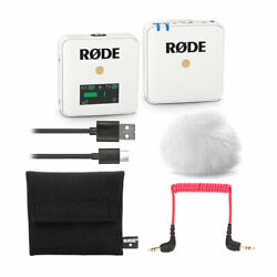 Kyпить Rode Wireless GO Compact Digital Wireless Microphone System - White на еВаy.соm