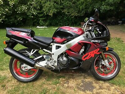 HONDA CBR 900RR FOXEYE 1993 12 MONTHS MOT  ONLY 3 OWNERS FROM NEW UK BIKE