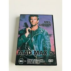 MAD MAX 2 Sealed DVD Starring MEL GIBSON Music BRIAN MAY Directed GEORGE MILLER