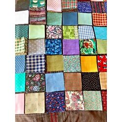 Kyпить SALE Fabric Quilting Squares 50 or 100 на еВаy.соm