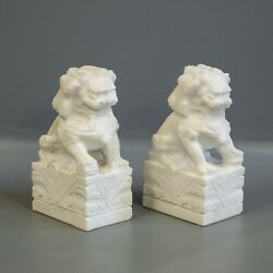 Kyпить Small Pair of Carved Marble Foo Dogs на еВаy.соm
