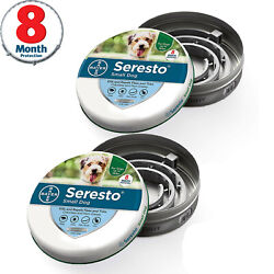 Kyпить Bayer Seresto Flea and Tick Collar for Small Dog 8 Month Protection 2-Pack на еВаy.соm