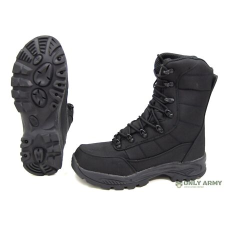img-Commando Black Boots Dutch Army Special Forces Style Waterproof Assault Combat