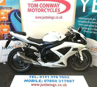 SUZUKI GSXR600 K9, 2010(10), ONLY 9,111 MILES, FSH, SUPERB MACHINE, £4795