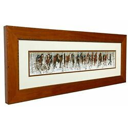 Kyпить Bev Doolittle TWO INDIAN HORSES Matted & Framed Art Print Open edition на еВаy.соm