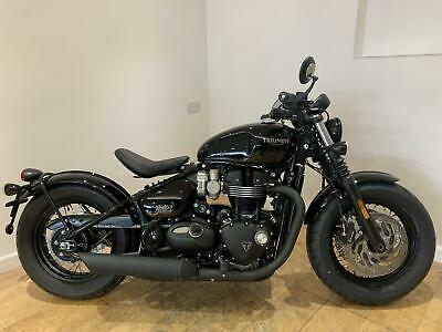 2020 Triumph BONNEVILLE BOBBER BLACK 1200cc (20YM) Petrol black Manual