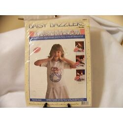 Kyпить Bucilla Daisy Dazzlers Sequin Kit Fabric Transfer Slicker Rocking Bear from 1992 на еВаy.соm