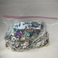 Kyпить Costume Jewelry 4 Pound Bag Necklaces, Earrings, Bracelets All Wearable на еВаy.соm