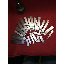 Kyпить MACHINIST TOOLS LOT 1.5 LBS of PRE-GROUND LATHE FORM CUTTING TOOL BITS на еВаy.соm