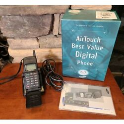 Kyпить Vintage Samsung SCH-211 Portable Airtouch CDMA Phone Black Charger, Box, Manual на еВаy.соm