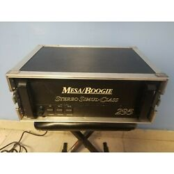 Kyпить Mesa Boogie Simul 295 Tube Power Amplifier Amp Guitar w/ Case на еВаy.соm