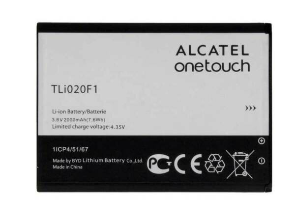 ItalieBatterie Original Alcatel One Touch Pop C7 Pile  TLI020F1 Pour 200mA